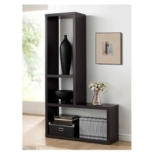 "Baxton Studio 63.3"" Cube Unit Bookcase"