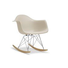 Baxton Studio Dario Shell Arm Chair