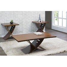 Baxton Studio Helix 3 Piece Coffee Table Set