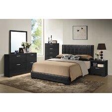 Baxton Studio Platform 5 Piece Bedroom Set