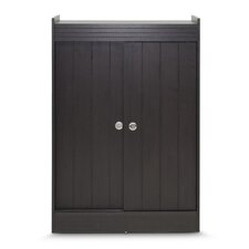 Baxton Studio 18-Pair Shoe Storage Cabinet