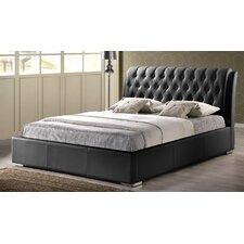 Baxton Studio Upholstered Panel Bed