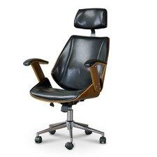 Baxton Studio High-Back Executive Office Chair
