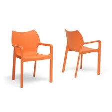 Baxton Studio Limerick Arm Chair (Set of 2)