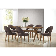 Baxton Studio Lucas 7 Piece Dining Set