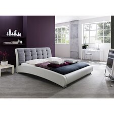 Baxton Studio Guerin Panel Bed