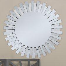Baxton Studio Caton Round Wall Mirror
