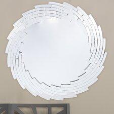 Baxton Studio Bonham Round Wall Mirror