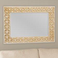 Baxton Studio Benner Rectangle Wall Mirror