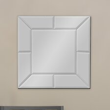Baxton Studio Gerard Square Wall Mirror