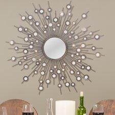 Baxton Studio Goring Round Wall Mirror