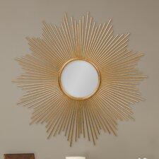 Baxton Studio Lambert Round Wall Mirror