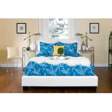 Sabrina Upholstered Panel Bed