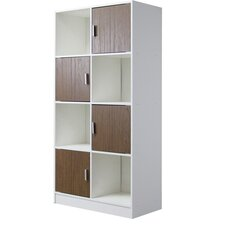 "Baxton Studio Chateau 63.1"" Cube Unit Bookcase"