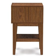 Baxton Studio 1 Drawer Nightstand