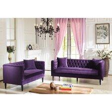 Baxton Studio Rylee 2 Piece Living Room Set
