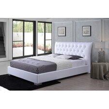 Baxton Studio Marina Upholstered Platform Bed