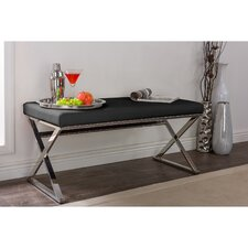 Baxton Studio Herald Upholstered Entryway Bench