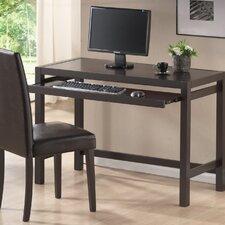 Baxton Studio Mesa Computer Desk and Parson Chair Set