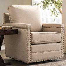 Baxton Studio Classic Retro Upholstered Arm Chair