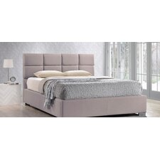 Baxton Studio Sophie Upholstered Platform Bed