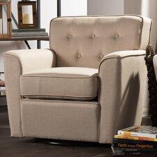 Baxton Studio Retro Upholstered Lounge Chair