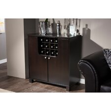 Murano Dry Bar and 12 Bottle Wine Cabinet