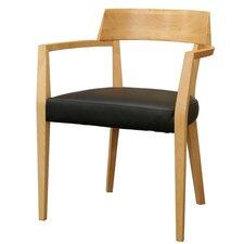 Baxton Studio Laine Modern Dining Chair in Light Honey (Set of 2)