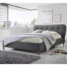 Baxton Studio Upholstered Platform Bed