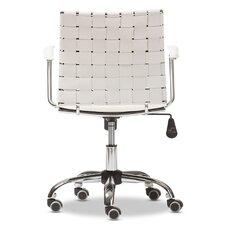 Baxton Studio Vittoria Leather Modern Conference Chair
