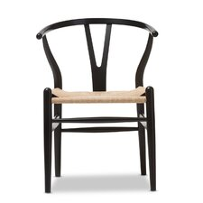 Baxton Studio Wishbone Dining Y Chair in Black