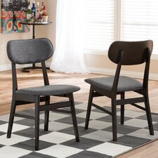 Baxton Studio Debbie Side Chair (Set of 2)