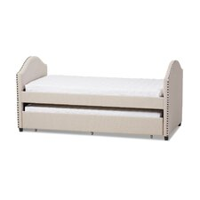 Baxton Studio Rebecca Daybed with Trundle Bed