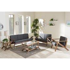 Baxton Studio 5 Piece Living Room Set