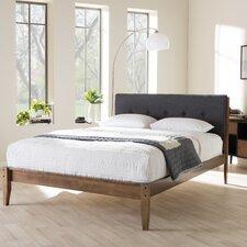 Baxton Studio King Upholstered Platform Bed