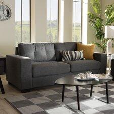 Baxton Studio Emilio Shadow Sofa