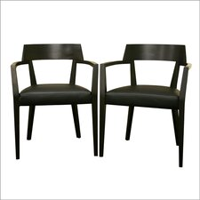 Baxton Studio Laine Arm Chair (Set of 2)