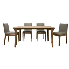 Baxton Studio Mier 5 Piece Dining Table