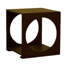 Baxton Studio Cognac Cube End Table
