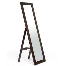 Baxton Studio Lund Modern Mirror with Built-In Stand