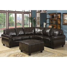 Baxton Studio Right Hand Facing Sectional