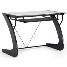 Baxton Studio Sculpten Modern Computer Desk