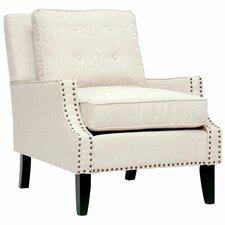 Baxton Studio Norwich Lounge Chair in Beige