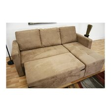 Baxton Studio Amul Sleeper Sectional