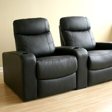 Baxton Studio Home Theater Recliner (Row of 2)