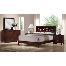 Baxton Studio Panel 5 Piece Bedroom Set