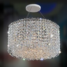Milieu Metro 6 Light Semi Flush Mount