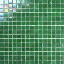 Atlantis Glass Mosaic Tile in Green