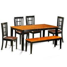 Nicoli 6 Piece Dining Set