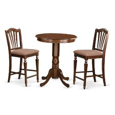 Eden 3 Piece Counter Height Pub Table Set